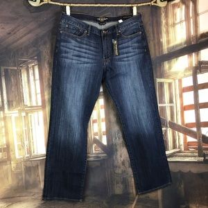 Lucky Brand blue jeans vintage straight 38x32 NEW